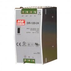 Zasilacz impulsowy DR-120-24, DIN TS35